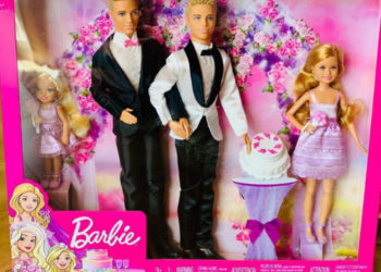 A GAY WEDDING SET FOR BARBIE? THIS SAME-SEX COUPLE HOPES SO!