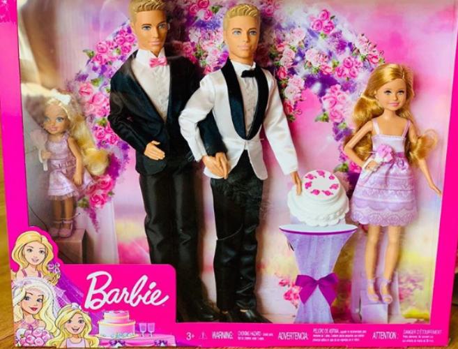 A GAY WEDDING SET FOR BARBIE? THIS SAME-SEX COUPLE HOPES SO!