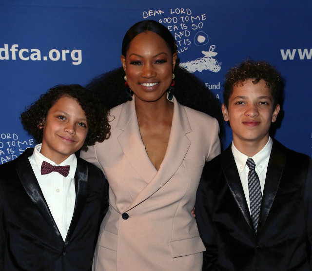 GARCELLE BEAUVAIS AND SONS LOOK FANCY AT THE 28TH ANNUAL BEAT THE ODDS AWARDS