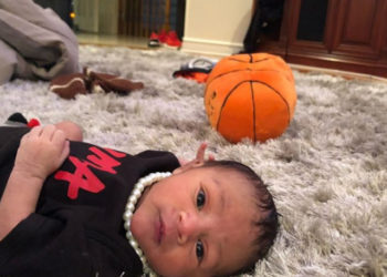 LYRICA ANDERSON AND A1 BENTLEY INTRODUCE THEIR SON TO THE WORLD