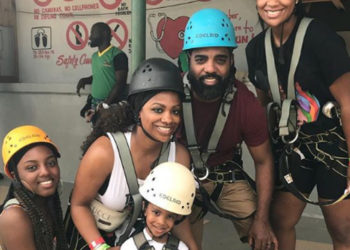 KANDI BURRUSS AND THE FAMILY VACATION IN JAMAICA