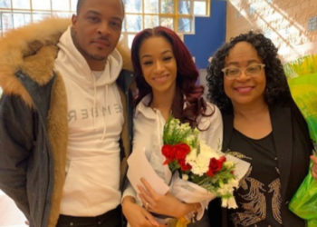 T.I.'S DAUGHTER DEYJAH HARRIS HAS BEAUTY AND BRAINS