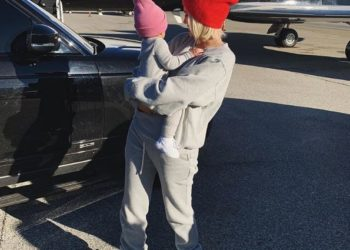 KYLIE JENNER AND BABY STORMI ARE FASHION TWINS IN NEW SWEET PHOTOS