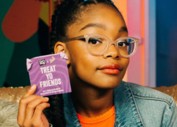 "BLACK-ISH STAR MARSAI MARTIN AND DOSOMETHING.ORG WANT YOU TO ""TREAT YO FRIENDS"" TO HELP END BULLYING"