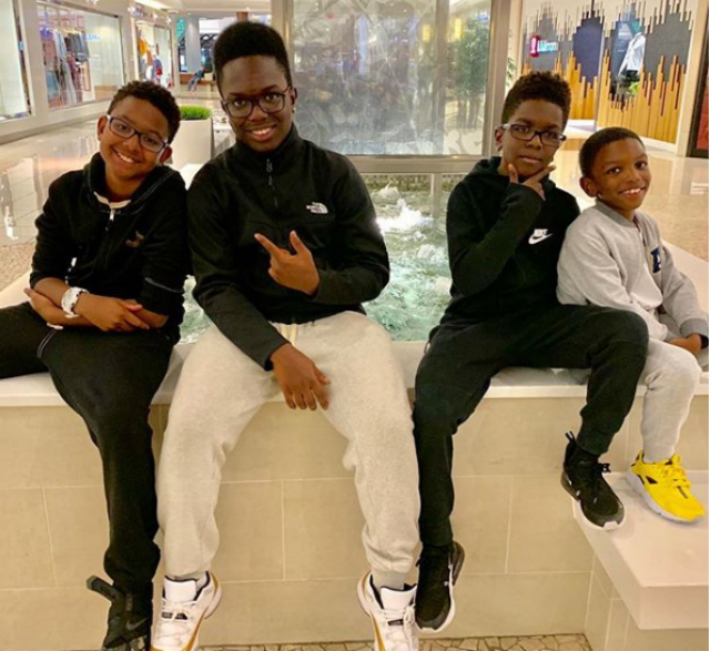 WANYA MORRIS' KIDS ARE FOLLOWING IN THEIR DAD'S FOOTSTEPS — THEY ALL CAN SING!