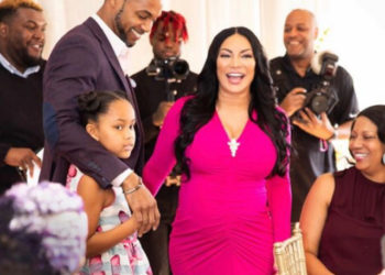 HGTV STAR EGYPT SHERROD CELEBRATES AT HER BABY SHOWER