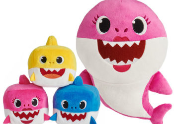 PINKFONG'S SINGING BABY SHARK PLUSH TOYS ARE IN STOCK FOR CHRISTMAS FOR A HEFTY PRICE