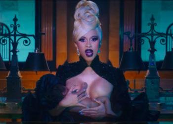IS CARDI B BREASTFEEDING BABY KULTURE IN HER 'MONEY' VIDEO?