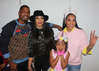 STEVIE J AND MIMI FAUST CELEBRATE THEIR DAUGHTER'S 9TH BIRTHDAY