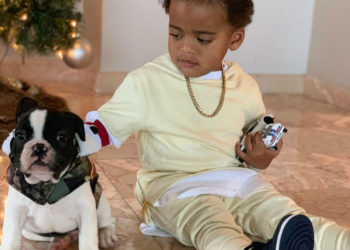 ANGELA SIMMONS' BABY BOY IS DOGGONE CUTE!