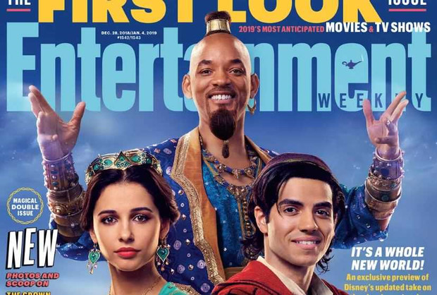 WILL SMITH PROMISES THAT HE WILL BE A BLUE GENIE IN DISNEY'S ALADDIN
