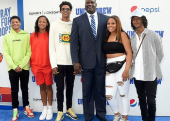 SHAQ TELLS HIS KIDS 'YOU GOTTA GET 3 DEGREES TO TOUCH SOME OF MY CHEESE'