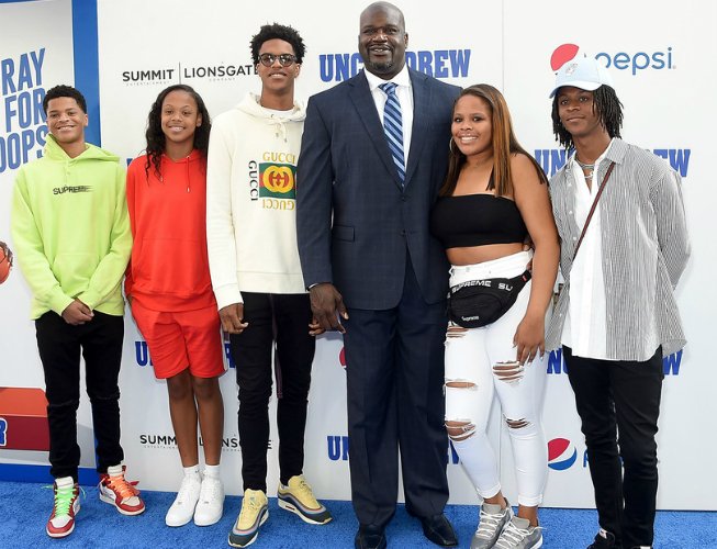 shaq tells his kids you gotta get 3 degrees to touch some