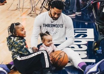NBA STAR DERRICK ROSE AND HIS DAUGHTER HAVE BOTH REACHED MILESTONES