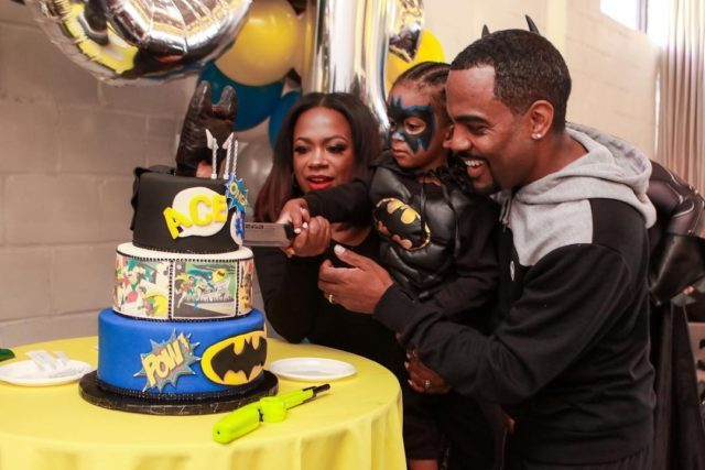 KANDI BURRUSS AND TODD TUCKER CELEBRATE SON'S 3RD BIRTHDAY