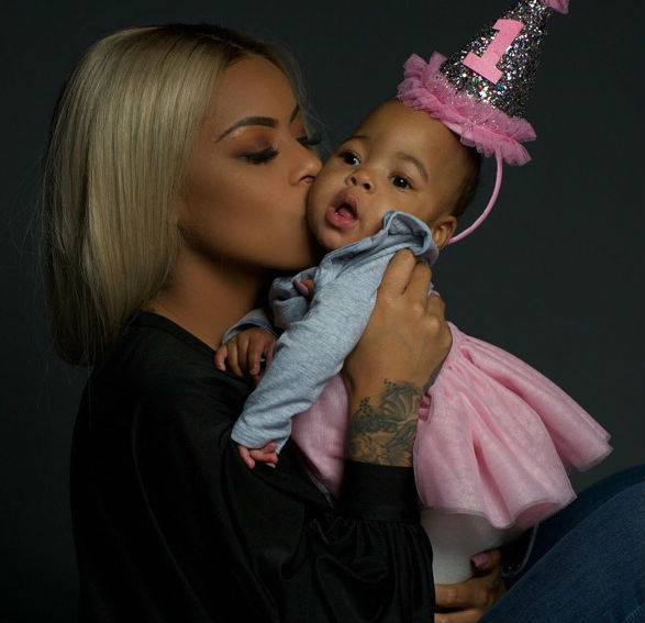 Alexis Skyy Celebrates Daughters 1St Birthday And Proves That Solo Lucci Is Not Her -6317