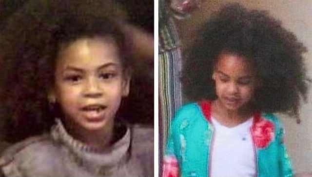 BLUE IVY LOOKS LIKE A MINI BEYONCE IN NEW PHOTOS