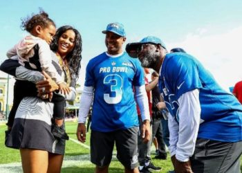 CIARA AND RUSSELL WILSON ENJOY PRO BOWL WEEK WITH DAUGHTER SIENNA WILSON