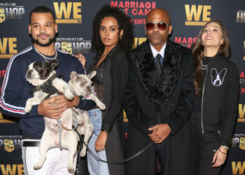 AVA DASH SUPPORTS BROTHER BOOGIE DASH AND DAD DAMON DASH AT GUHH PREMIERE PARTY