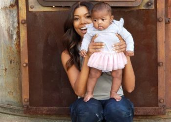 "GABRIELLE UNION SAYS BABY KAAVIA IS ""DREAMS FULFILLED"""