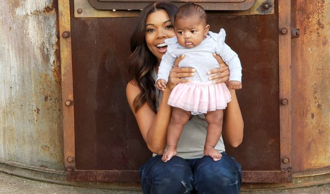 """GABRIELLE UNION SAYS BABY KAAVIA IS """"DREAMS FULFILLED"""""""