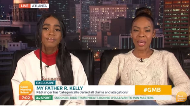 """R KELLY'S DAUGHTER JOANN KELLY AND EX-WIFE ANDREA KELLY ARE """"TORN"""" OVER ABUSE ALLEGATIONS"""