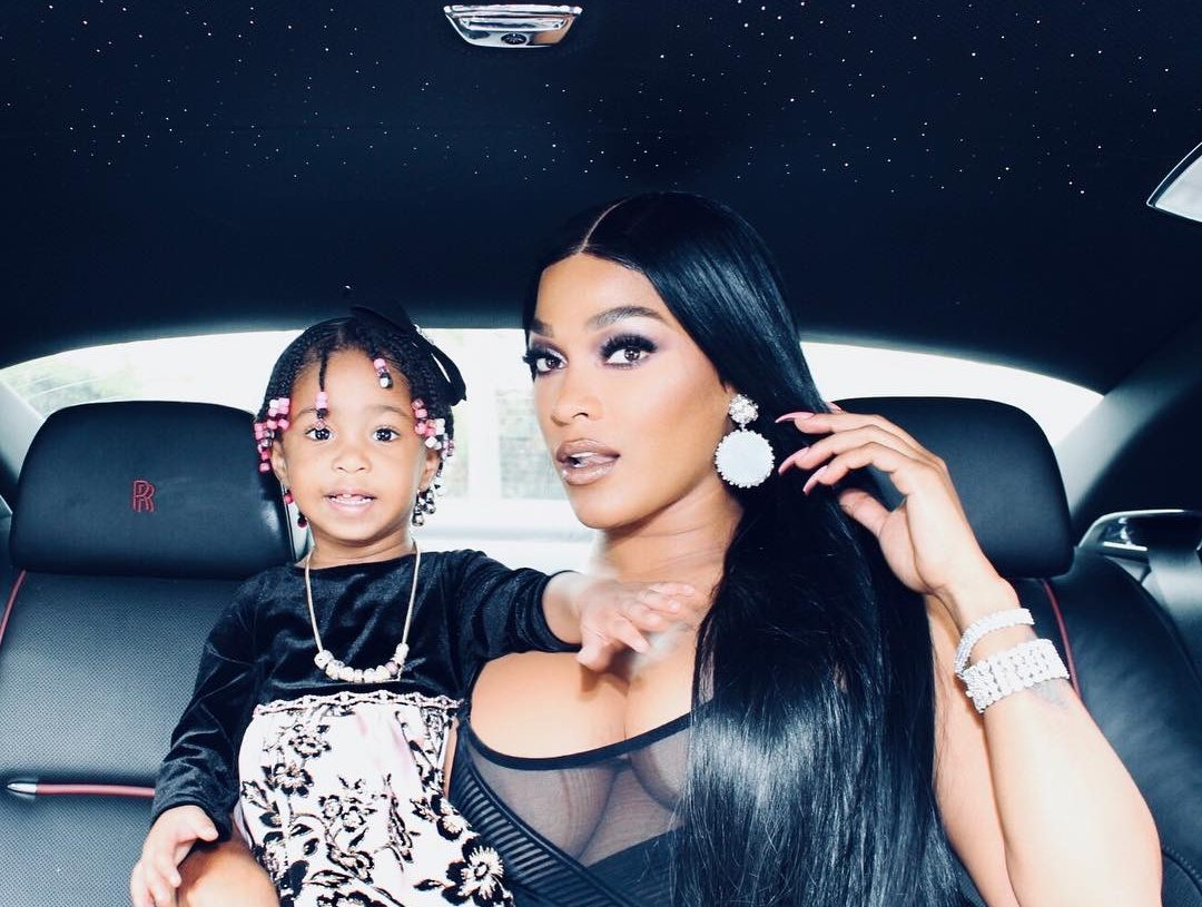 JOSELINE HERNANDEZ AND BABY BONNIE BELLA ARE 'LIT' IN NEW PHOTOS