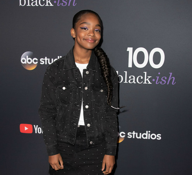 'BLACK-ISH' STAR MARSAI MARTIN TO BECOME YOUNGEST EXECUTIVE PRODUCER IN HISTORY