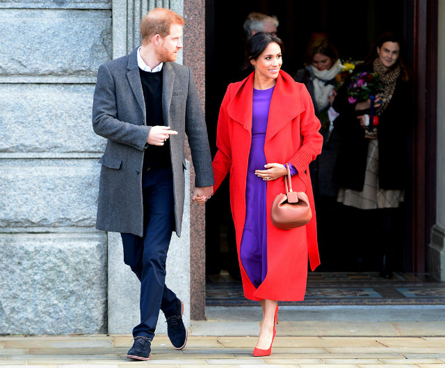 MEGHAN MARKLE REVEALS HER DUE DATE