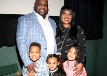PASTOR JOHN GRAY, WIFE AND KIDS ATTEND SPECIAL SCREENING OF 'THE BOOK OF JOHN GRAY'