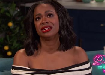 KANDI BURRUSS TEARS UP TALKING ABOUT ANDY COHEN'S SURROGACY ADVICE