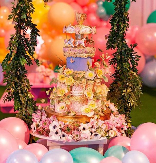 Kylie Jenner throws lavish bash for Stormi's 1st birthday
