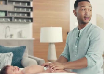 JOHN LEGEND AND KIDS STAR IN ADORABLE PAMPERS COMMERCIAL