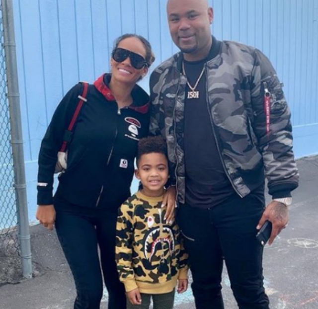 EVELYN LOZADA AND CARL CRAWFORD'S SON HAS 'GOT THAT SWING'