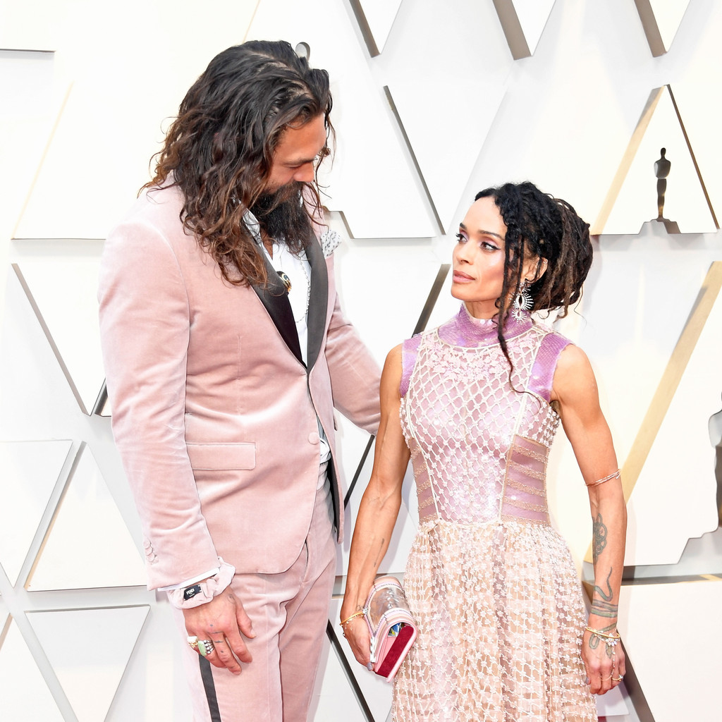 Jason Momoa Pink: JASON MOMOA AND LISA BONET'S KIDS WERE BLOWN AWAY BY THEIR