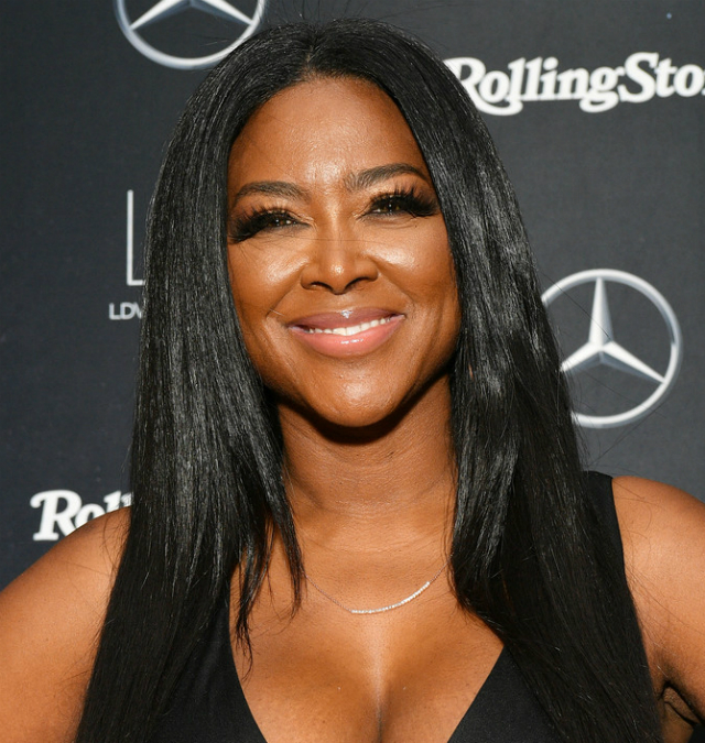 KENYA MOORE SAYS BEING A MOM TO BABY BROOKLYN IS 'THE MOST GRATIFYING THING'