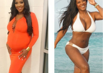 KENYA MOORE SHARES THE SECRET TO HER POST-BABY BODY