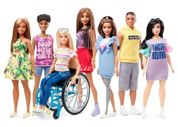 BARBIE HAS A NEW GROUP OF FRIENDS—TWO DOLLS WITH DISABILITIES HAVE BEEN ADDED TO THE CREW