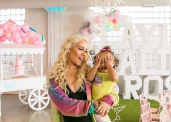 DERRICK ROSE'S DAUGHTER TURNS 1! SEE THE PHOTOS!