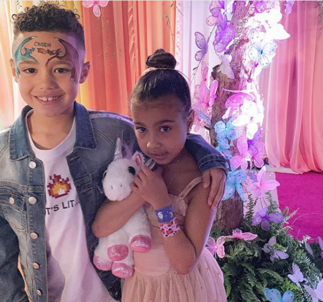NORTH WEST'S ALLEGED BOYFRIEND, CAIDEN MILLS, BUYS HER EXPENSIVE JEWELRY FOR VALENTINE'S DAY