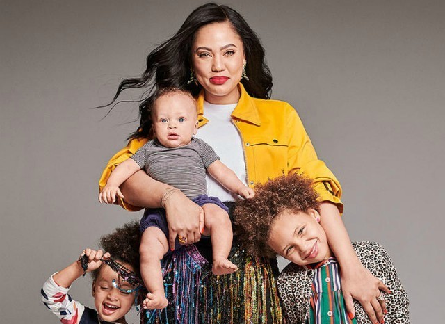ayesha curry dishes on her kids  home life and more