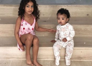 KIM KARDASHIAN SHARES ADORABLE SNAPS OF HER KIDS