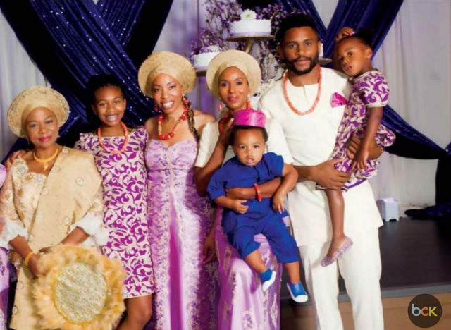 KERRY WASHINGTON, HUSBAND AND KIDS FEATURED IN NIGERIAN 'LIFE AND TIMES' MAGAZINE