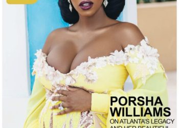 PORSHA WILLIAMS AND HER BUMP COVER 'ROLLING OUT' MAGAZINE