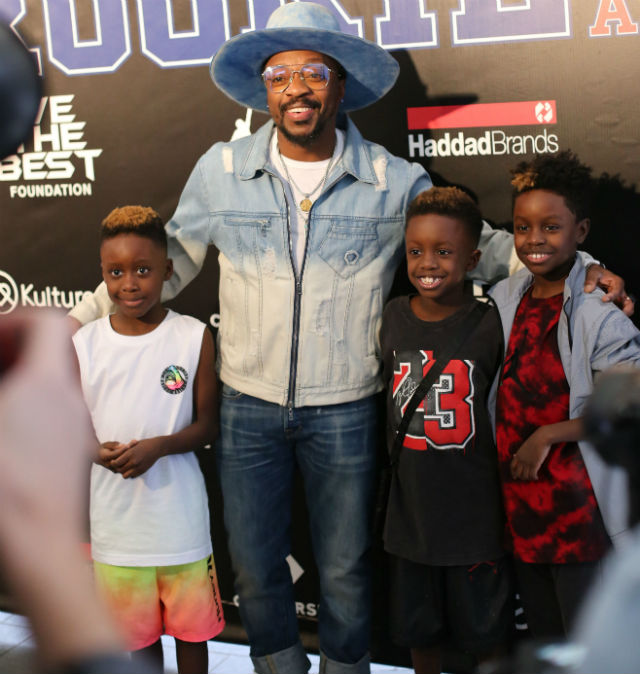 RUSSELL WESTBROOK, ANTHONY HAMILTON AND MORE ATTEND THE