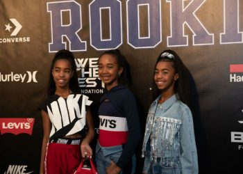 SEAN 'DIDDY' COMBS' DAUGHTERS WALK THE RUNWAY AT THE 2019 ROOKIE USA SHOW