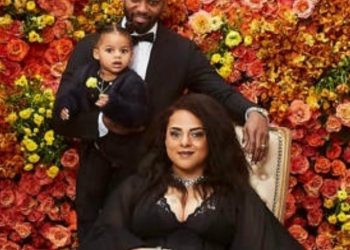 MARSHA AMBROSIUS' FAMILY PORTRAIT IS MELANIN MAGIC