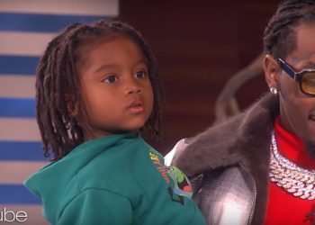 FATHER OF FOUR, OFFSET, AND SON KODY STOP BY THE ELLEN SHOW