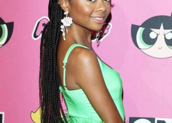 SKAI JACKSON HITS THE CHRISTIAN COWAN X POWERPUFF GIRLS FASHION SHOW