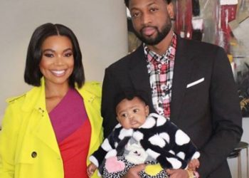 GABRIELLE UNION SAYS BABY KAAVIA 'LOOKS LIKE DAD, [BUT HAS THE] NEGOTIATING SKILLS OF MOM'